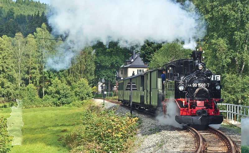 Germany Dresden Steam Railway Holiday
