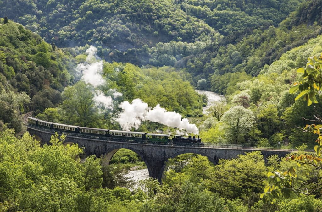 Ardeche France Steam Railway Holiday