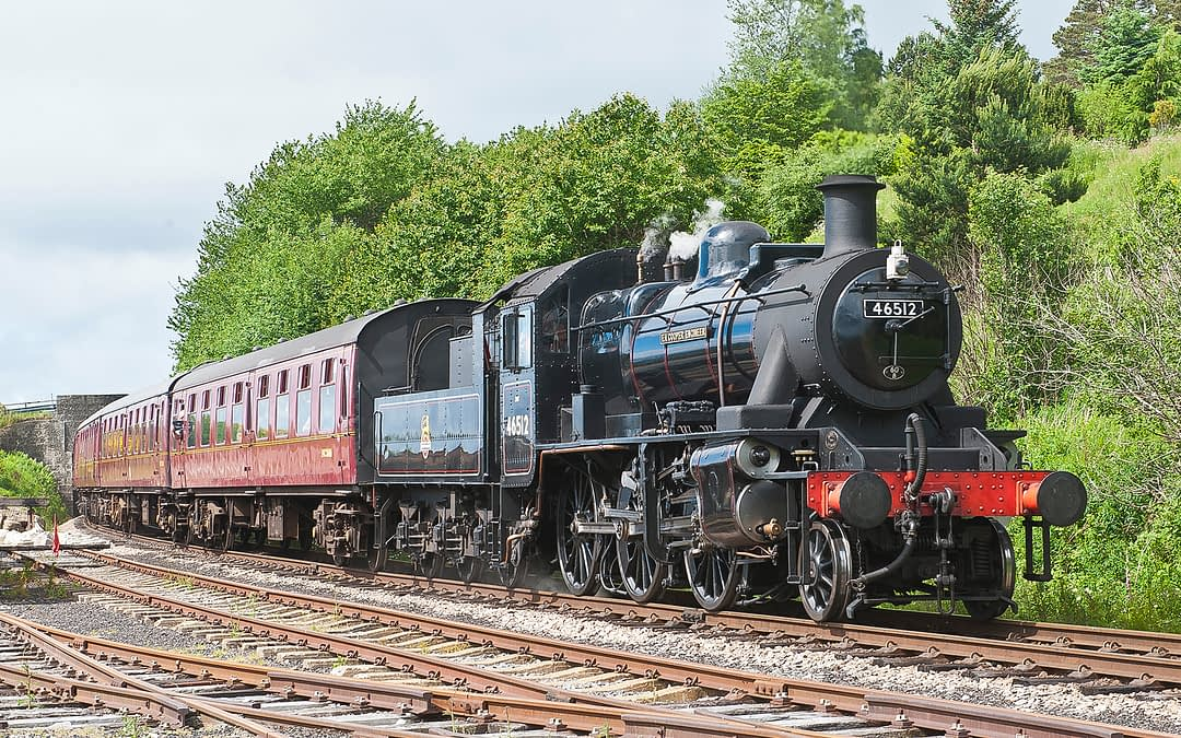 Eastern Scotland Steam Railway Holiday