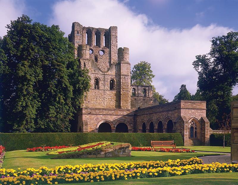 Kelso Abbey Scottish Borders