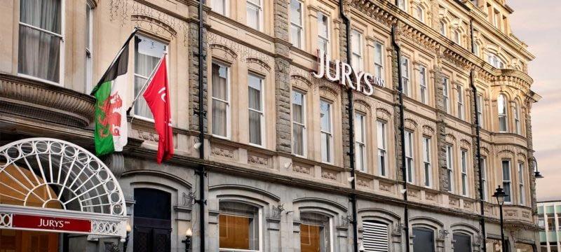 The Jurys Inn Cardiff