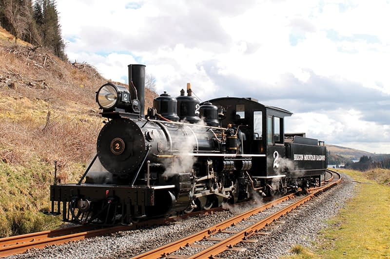 South Wales and Brecon Beacons Steam Railway Holiday