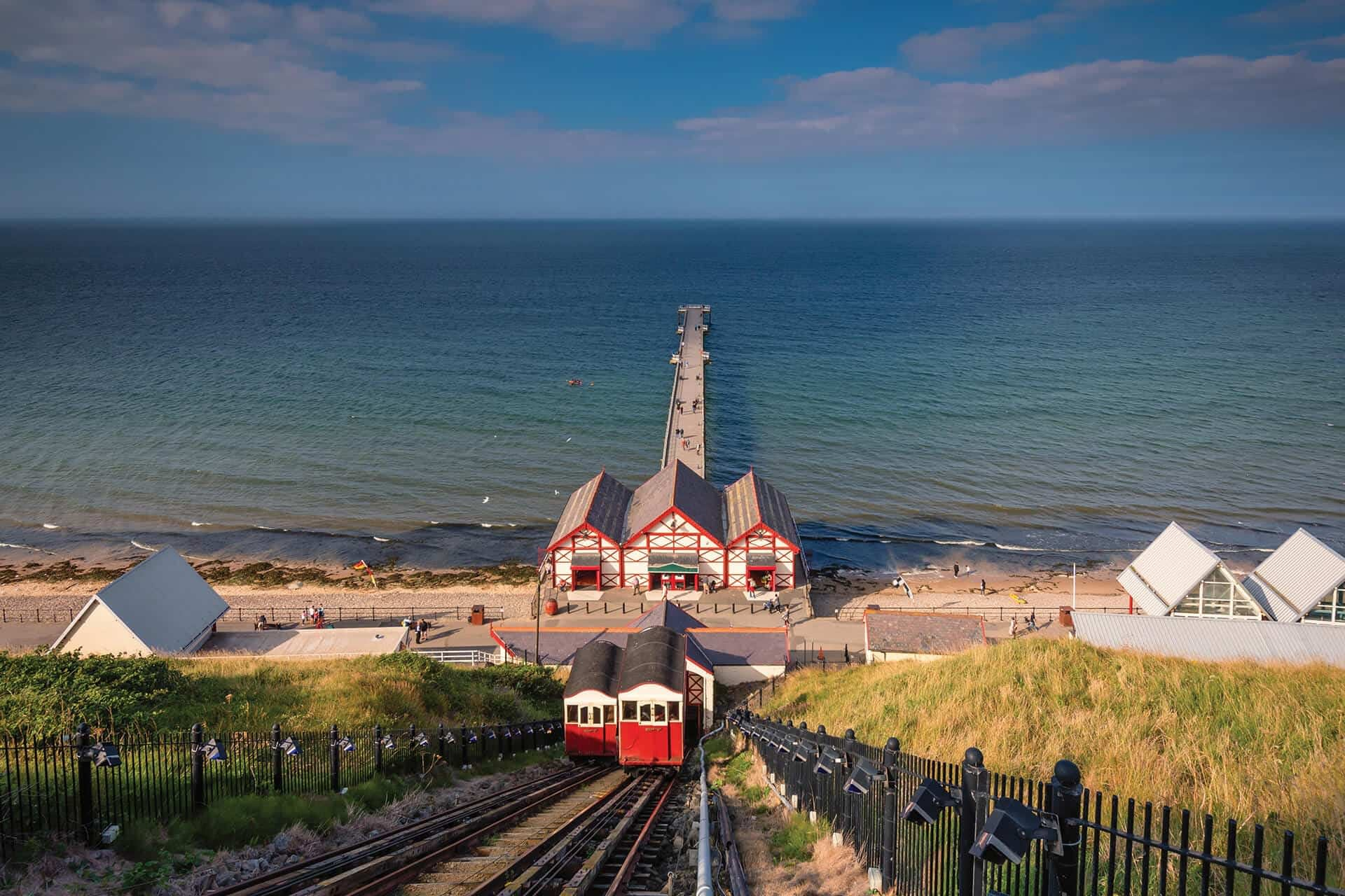 Saltburn+Funicular+Pier