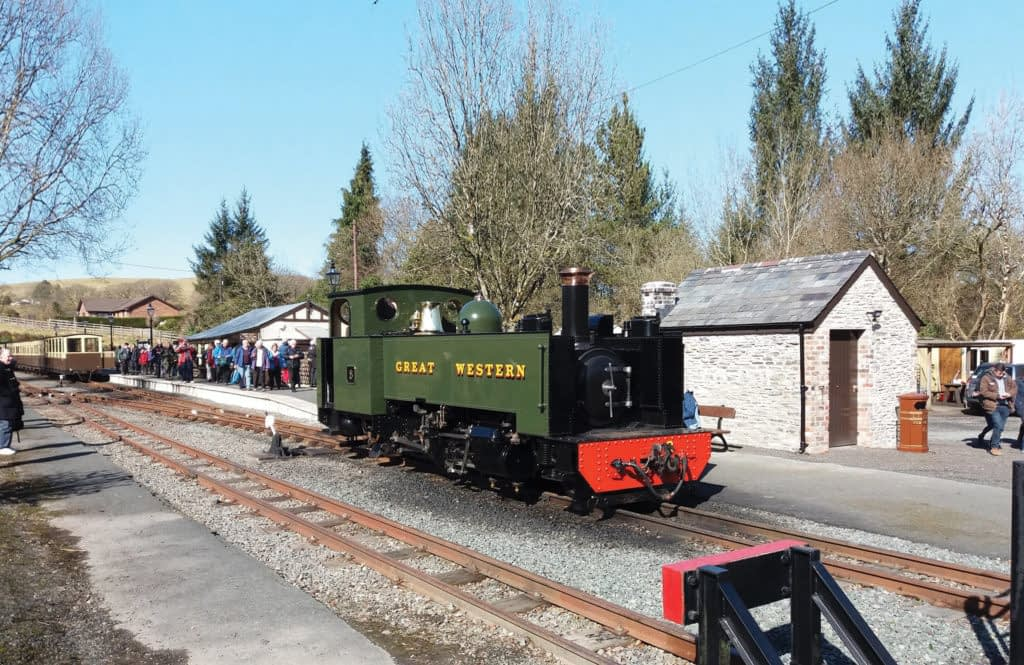 West Wales Walker - Vale of Rheidol Railway 2